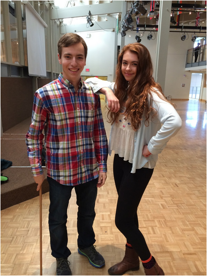 Charlie B. Class of 2015 and Isabella W. Class of 2016.