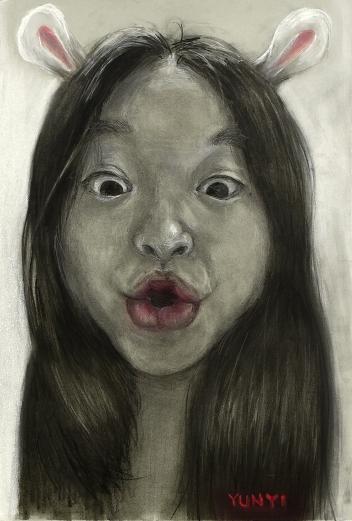 Self Portrait as a Rabbit